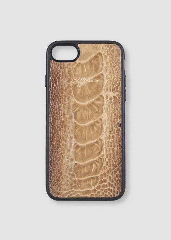 73143bab669 iPhone 7 Plus Case - Red Gold Leaf | Affluenza | Artículos de pieles ...